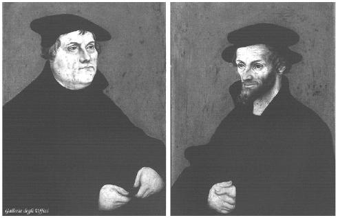 Luther et Melanchton