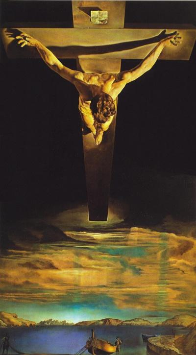 Dali: Le Christ de St-Jean en croix