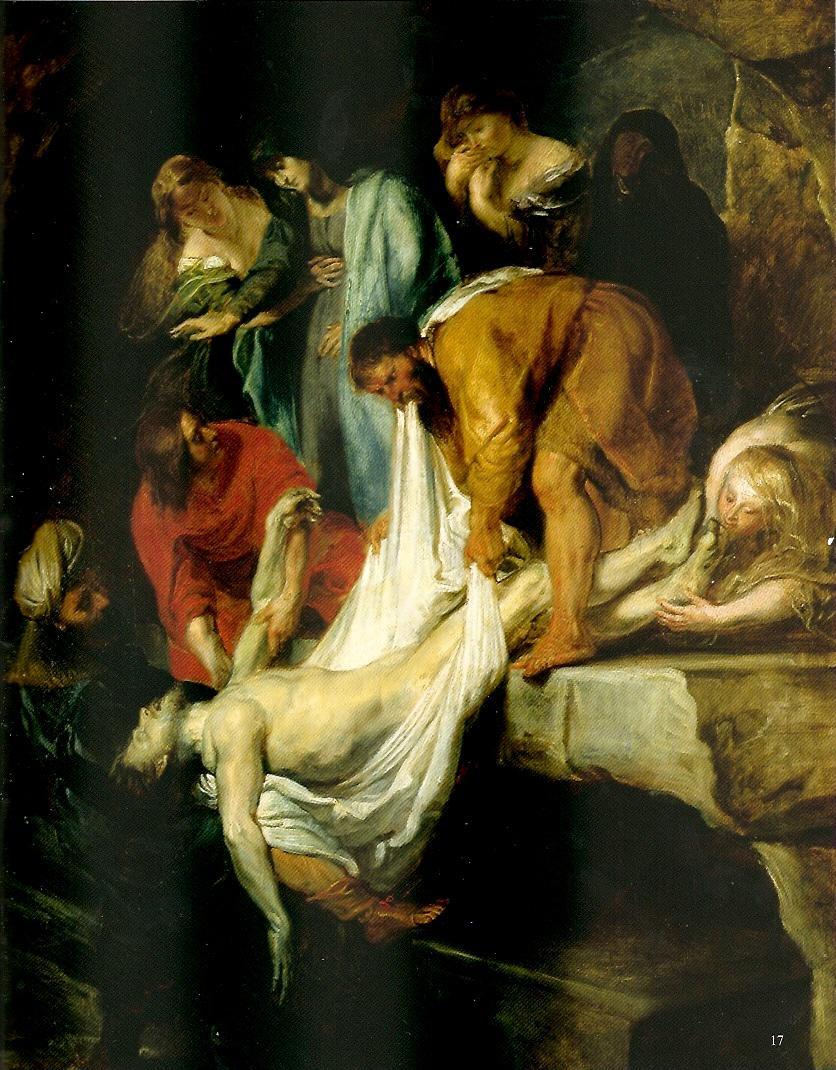 Rubens: Descente de Christ de la croix